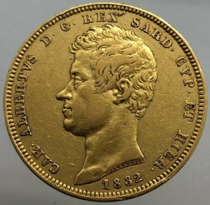 100 LIRE 1832 Genova periziata BB ...