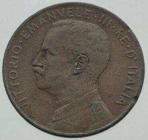 2 Centesimi Prora 1915 Variante ...